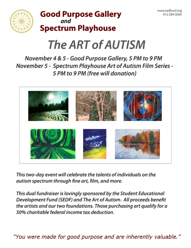 The Art  of Autism 2011 Exhibit